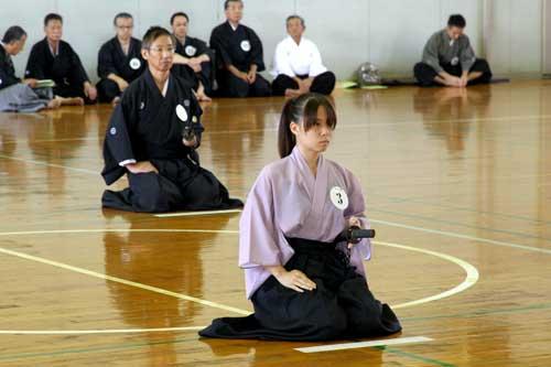 全日本居合道连盟(九州大会)平成24年度图片